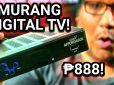 GMA Affordabox Unboxing – Digital TV Receiver For PHP 888 (Est. US$ 18)