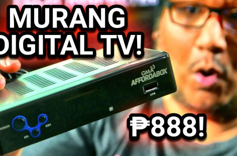 GMA Affordabox Unboxing – Digital TV Receiver For PHP 888 (Est. US$ 18)
