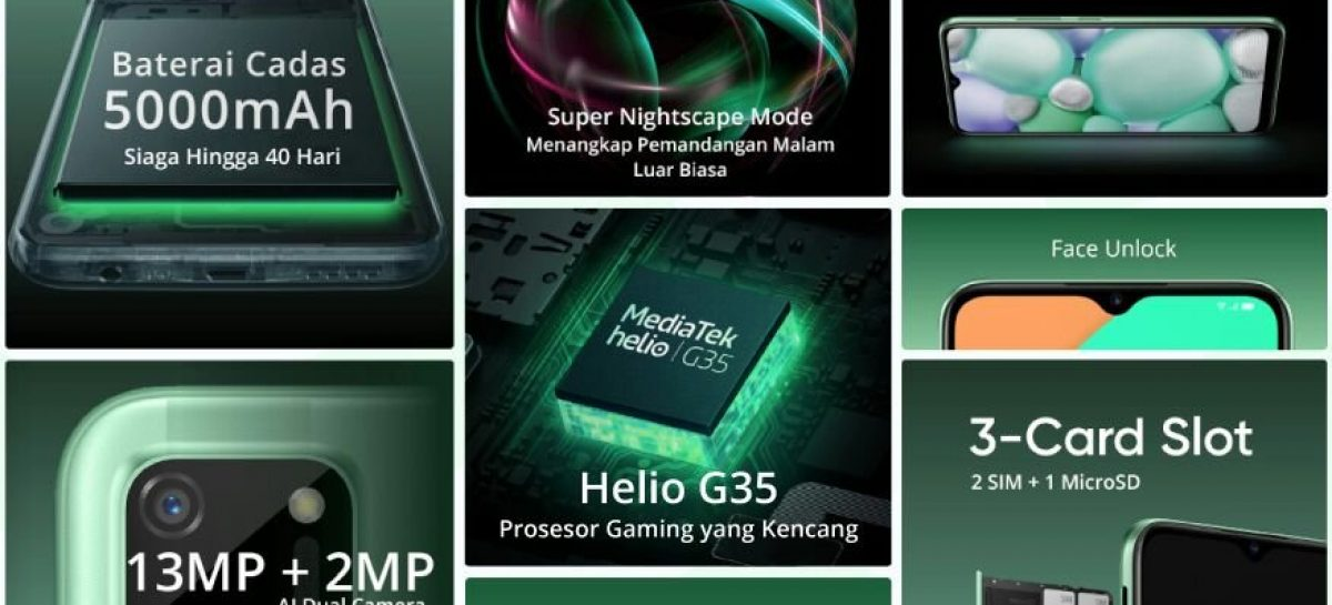 Realme C11 Goes Official, One Of The First Devices With Helio G35
