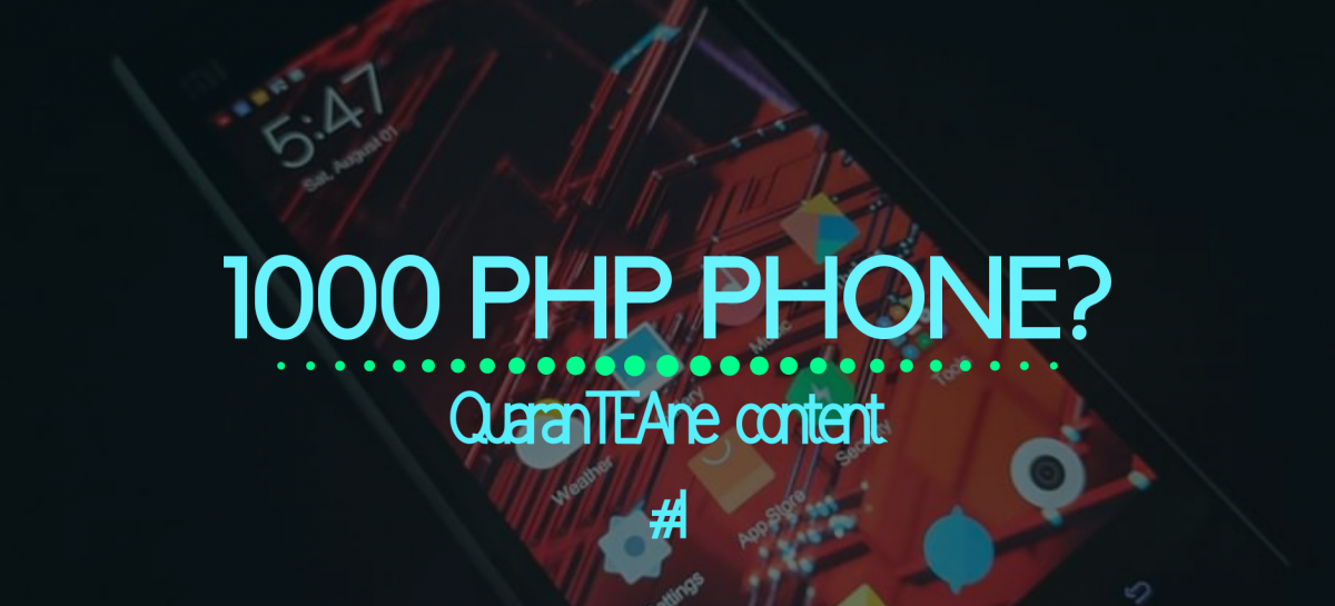 PHP 1000 Budget Phone For Online Classes?