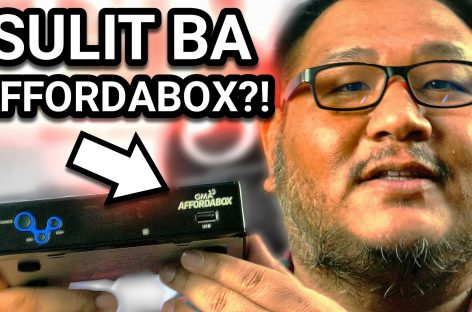 GMA Affordabox Review – Sulit Ba Ang Affordabox!? (Digital TV Reciever For PHP 888!)