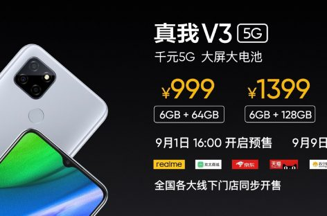 Realme V3 Is The Cheapest 5G Smartphone As Of Today!