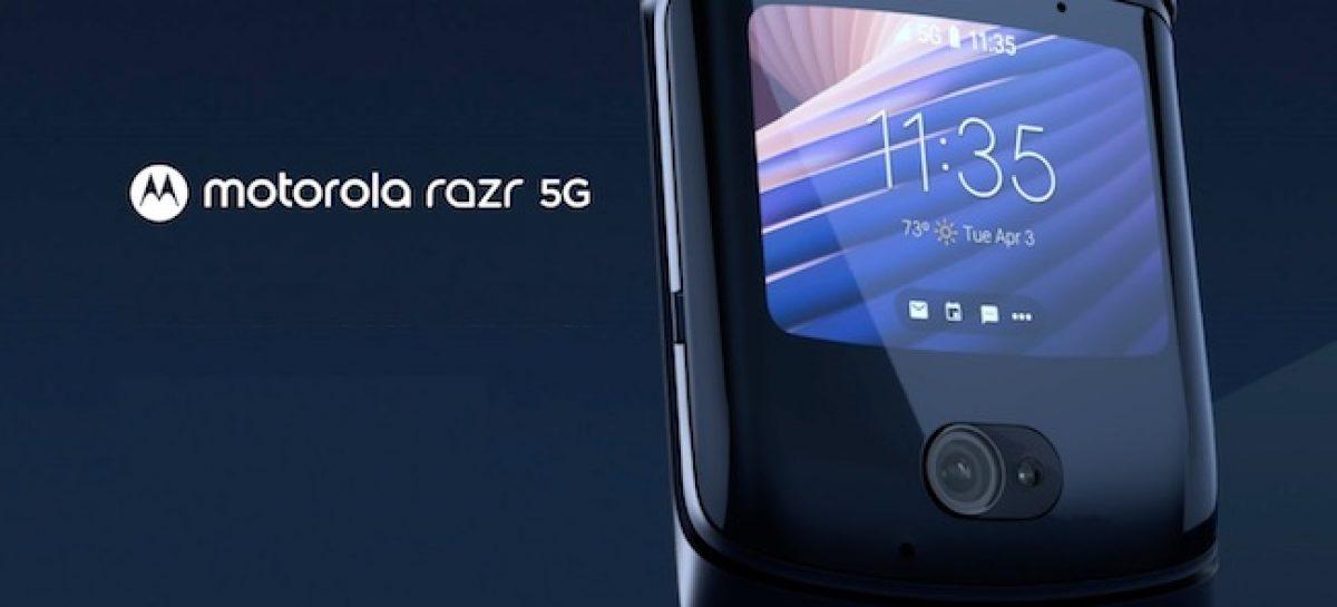 Motorola RAZR 5G Announced, Price And Specifications.