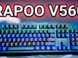 Rapoo VPro V560 Impressions – Fullsize Backlit Mechanical Keyboard For PHP 2,000 (US$ 40)