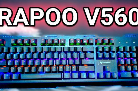 Rapoo VPro V560 Impressions – Fullsize Backlit Mechanical Keyboard For PHP 2,000 (US$ 40)