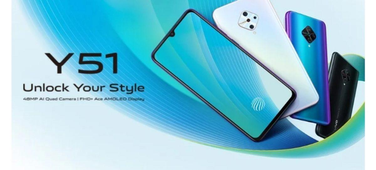 Vivo Y51 2020 Bags Snapdragon Chipset And AMOLED Display