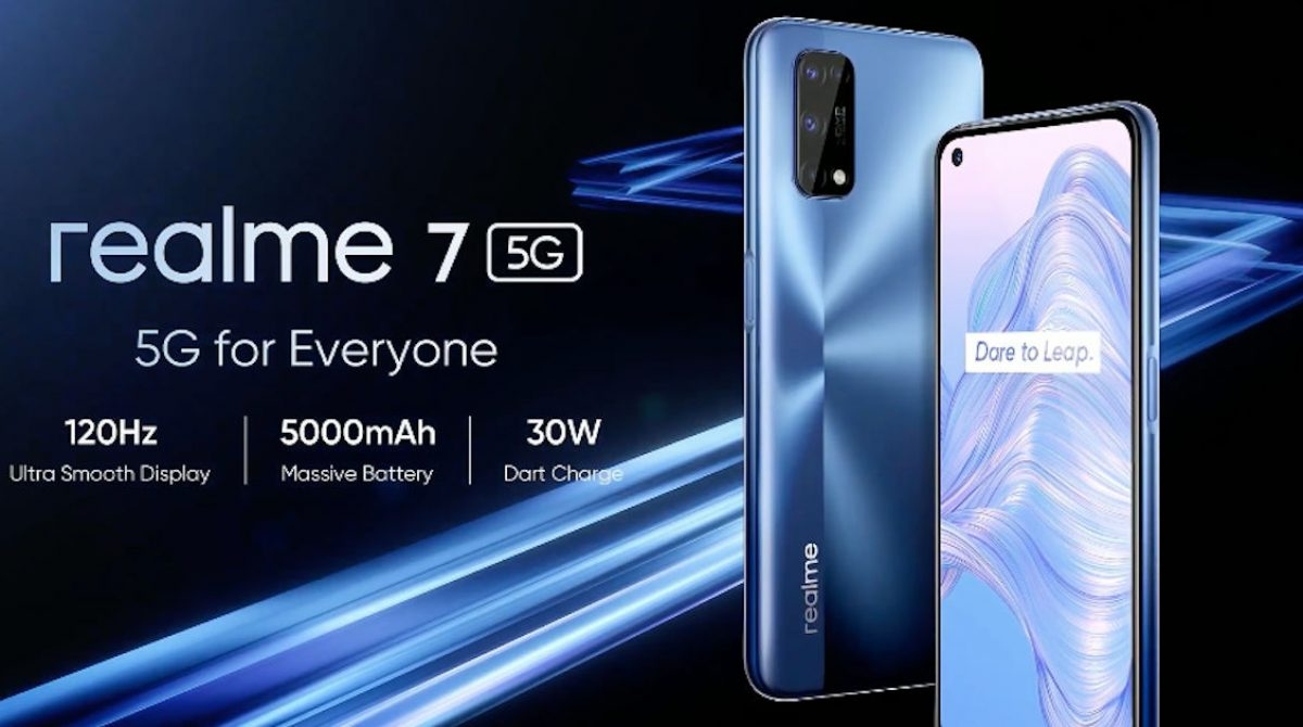 Realme 7 5G A Souped Up 5G Refresh Over Realme 7 Gets Unveiled In Europe.