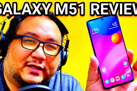 CRAZY 7,000 MAH BATTERY MIDRANGER! – Samsung Galaxy M51 Review (PHP 20k / US$ 400)