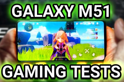Samsung Galaxy M51 – 14 Games FPS Tested!