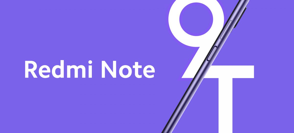 Redmi Note 9T Is A Tweaked Global Version Of The Budget Redmi Note 9 5G