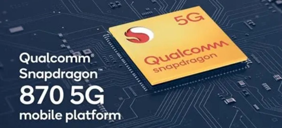 Snapdragon 870 Geekbench Shows Snapdragon 865 at 3.2GHz. Scores Between SD865,888