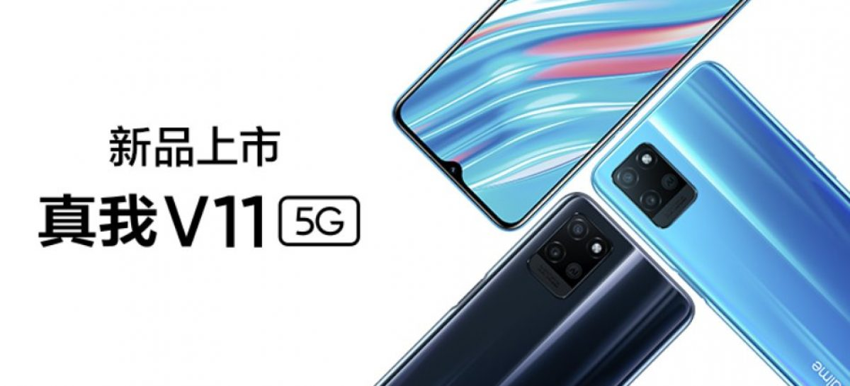 Realme V11 is a budget 5G device with Dimensity 700 for about PHP 9K