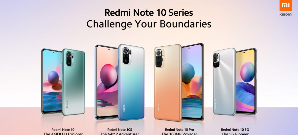 Redmi Note 10 Series Debuts Globally. Excellent Set Of Specs At Low Prices