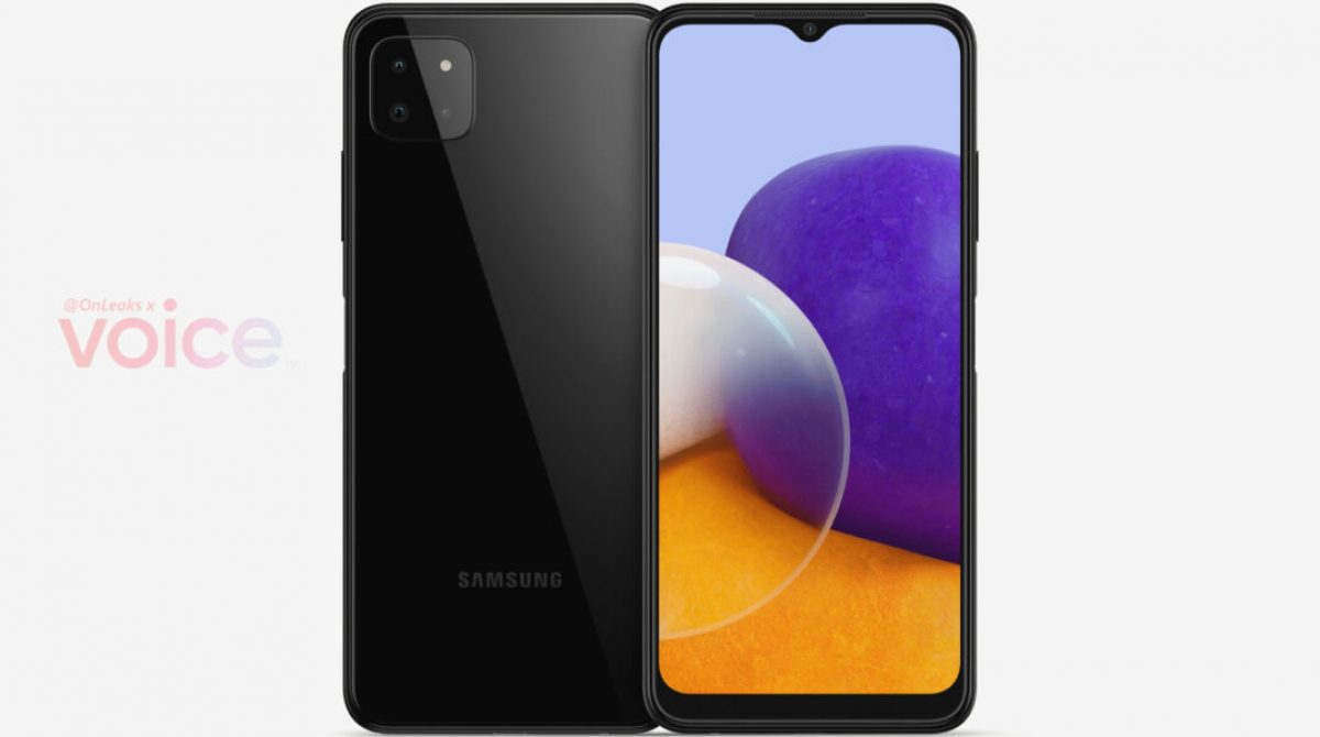 Samsung Galaxy A22 5G Renders Appear Online