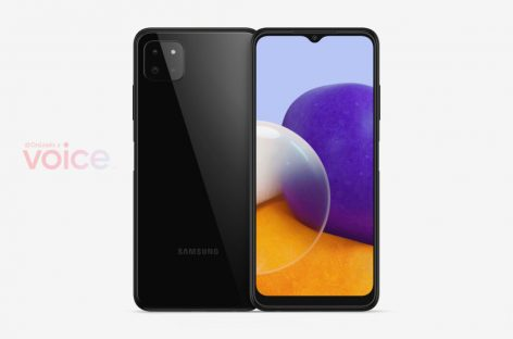 Samsung Galaxy A22 5G Renders Appear Online