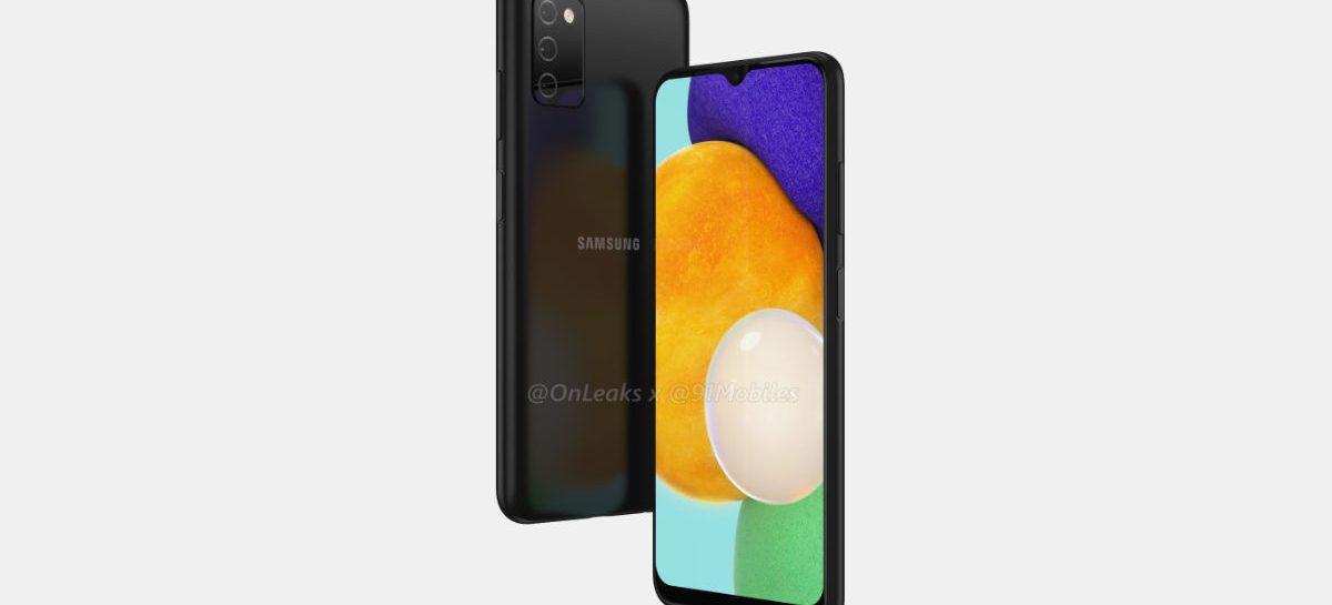 Entry Level Samsung Galaxy A03s Renders Surface Out