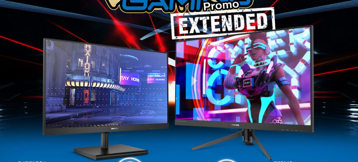 Philips Gaming Monitors Promo – Free Globe Home WiFi Routers Until June 15!