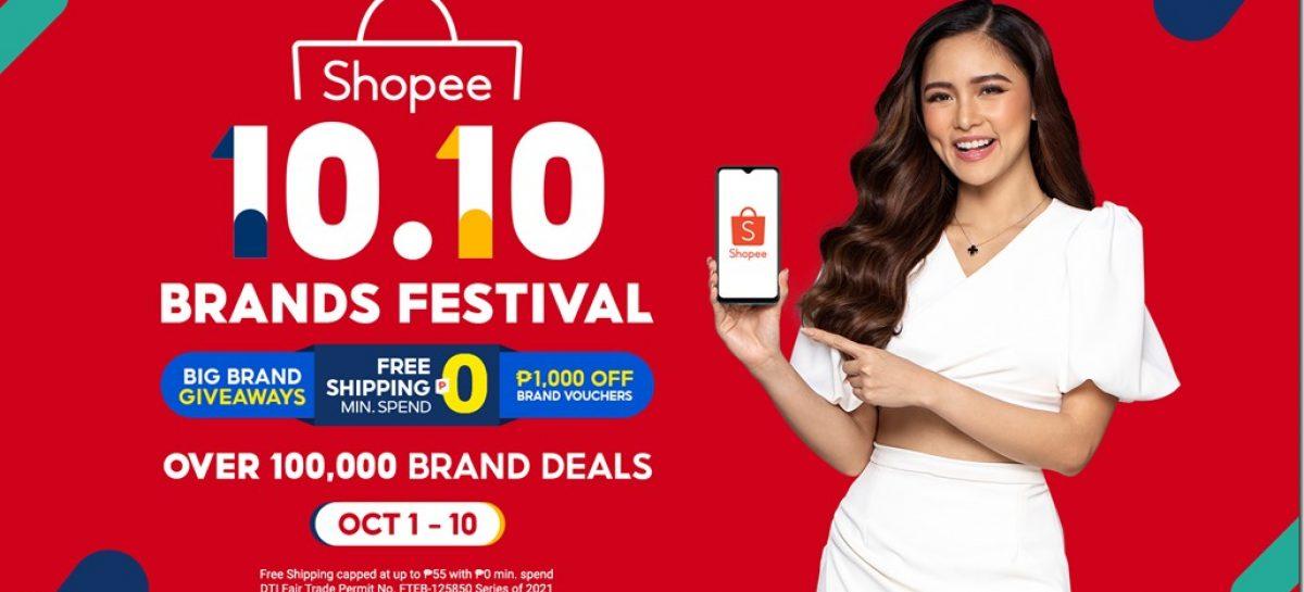 Shopee Debuts Kim Chiu as Brand Ambassador to Kick Off the 10.10 Brands Festival
